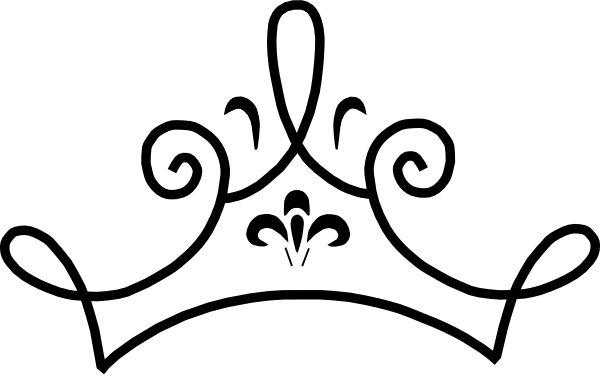 600x376 Princess Crown Clipart Vector