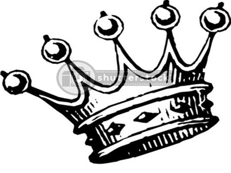 Crown Images Black And White