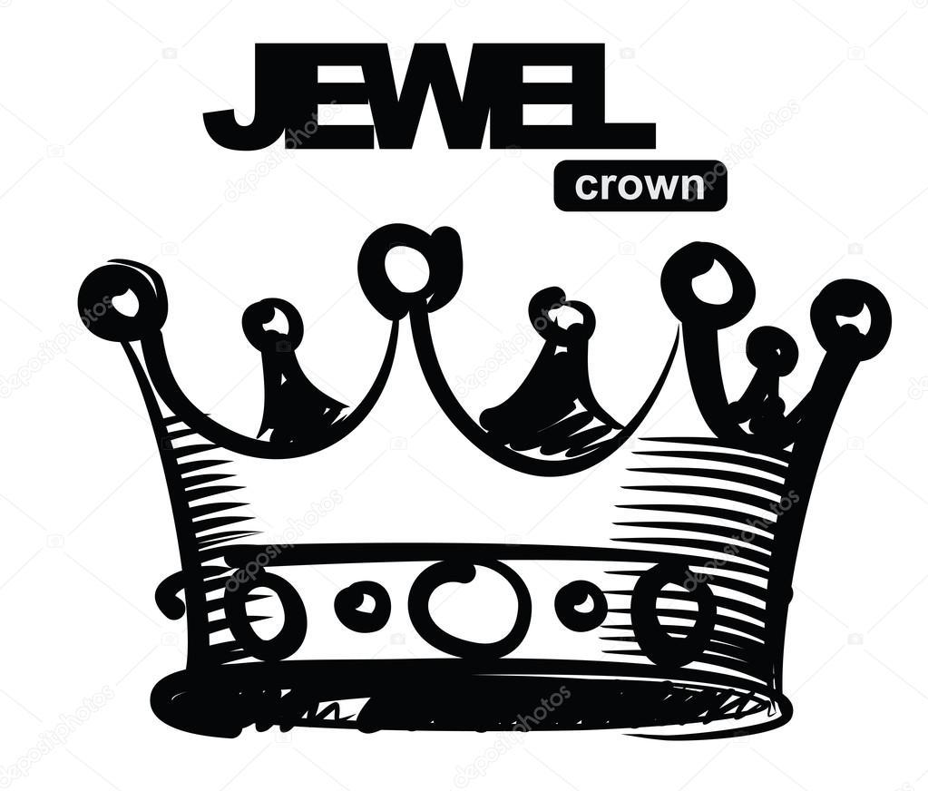 1023x872 Black Crown Stock Vector Bioraven