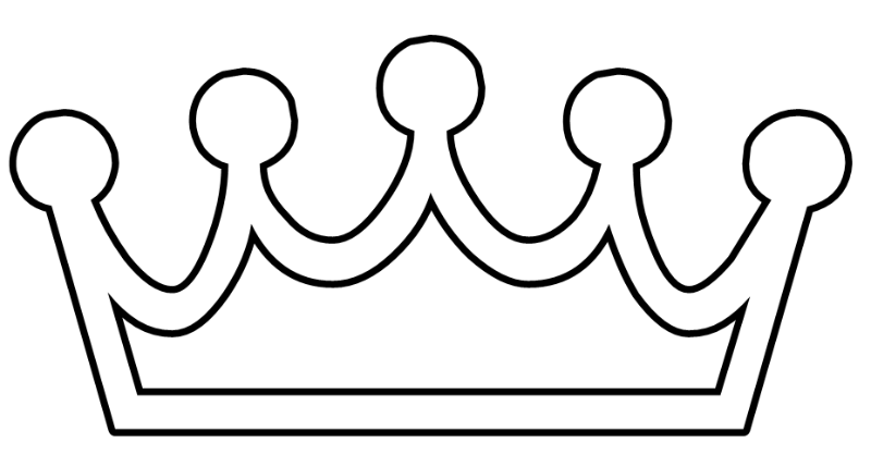 800x429 Crown Bw Free Vector 4vector