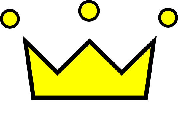 600x422 King Crown Clipart