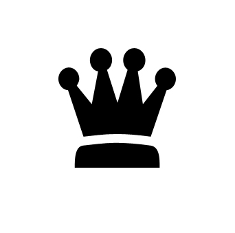 342x339 King Crown Clip Art Black And White