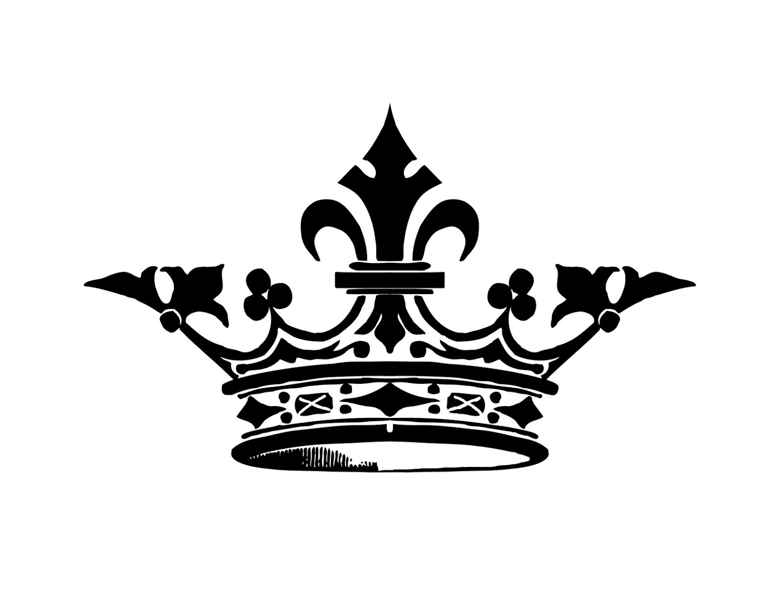 1600x1236 Queen Crown Black And White Clipart