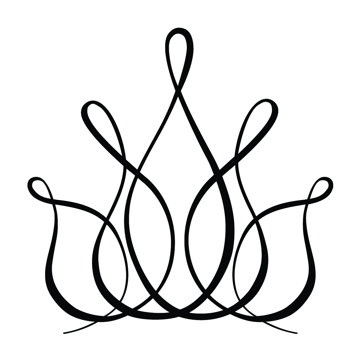 1200x1200 Clip Art Filigree Crown Clipart