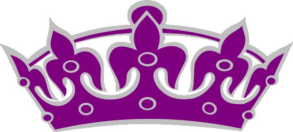 600x271 Purple Clipart Gold Crown
