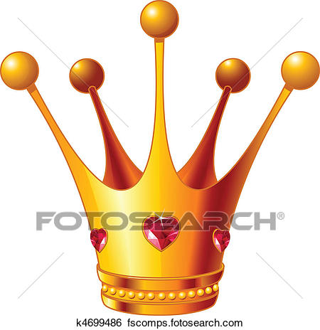 450x464 Clip Art Of Princess Crown K4699486