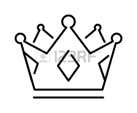 450x373 Crown Of The King Or Royal Crown Line Art Icon Apps Websites