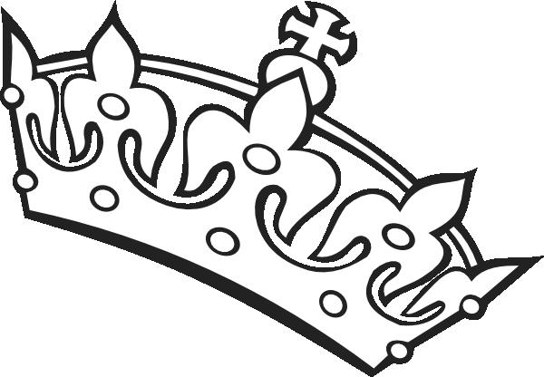 600x416 Crown Outline Clip Art