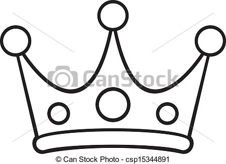 450x326 Crown Clipart Line Drawing
