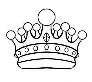 302x269 Queen Crown Drawing