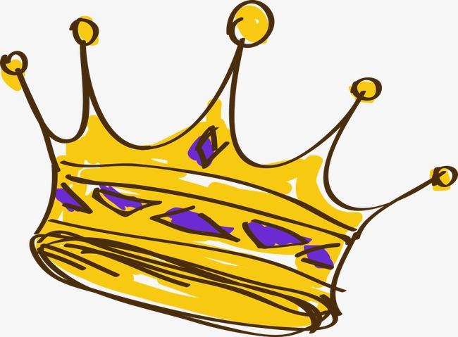 650x479 Hand Painted Cartoon Crown, Imperial Crown, Cartoon Crown, Hand