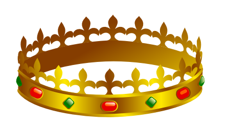 448x264 Crown With Jewels