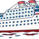 150x150 Cruise Ship Clip Art Cruise Clipart Ocean Liner Pencil And