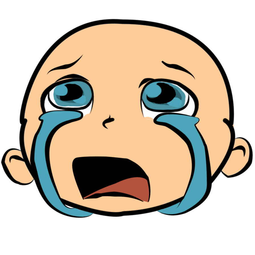 894x894 Crying Clipart Face