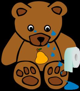 261x298 Pearbear Cry Clip Art