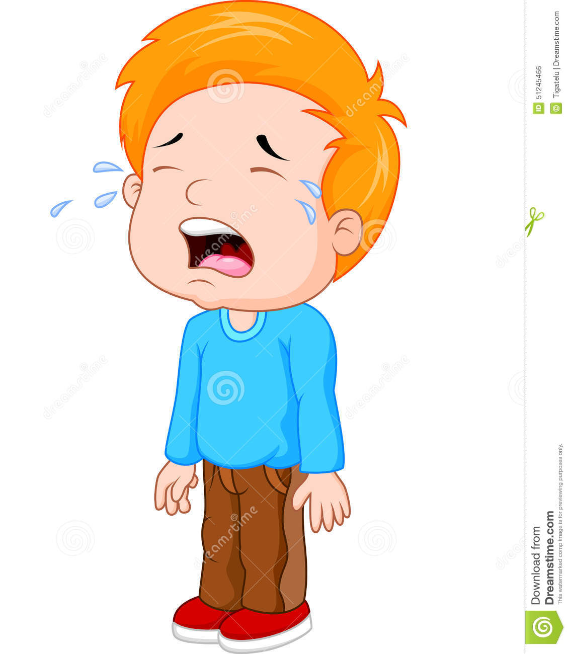 Crying Kid Clipart | Free download on ClipArtMag