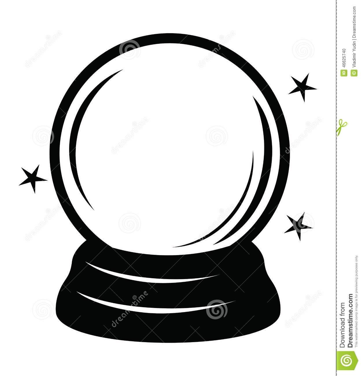 1252x1300 Crystal Ball Clip Art