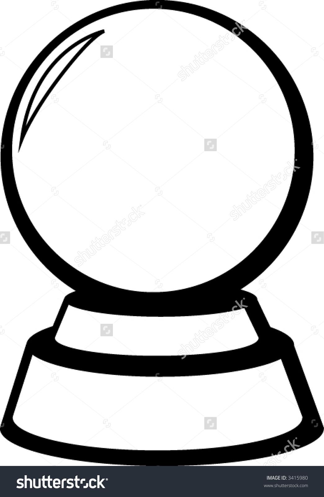 1045x1600 Crystal Ball Clip Art