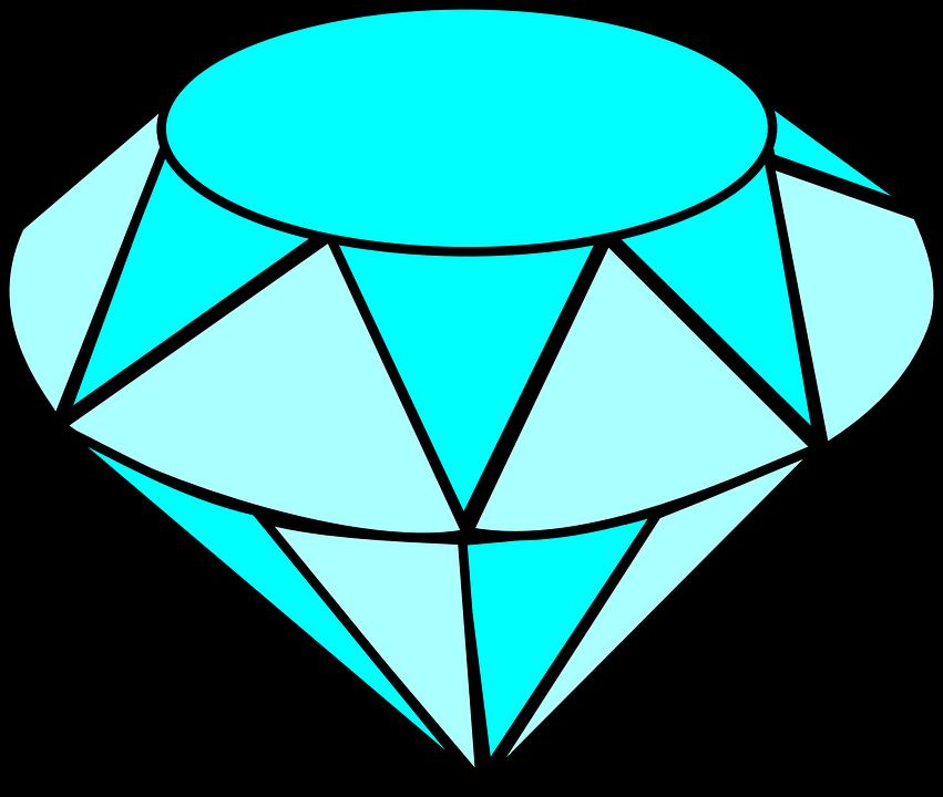 851x720 Crystal Clipart Vector