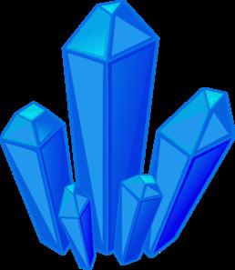 258x297 Blue Gem Stones Clip Art