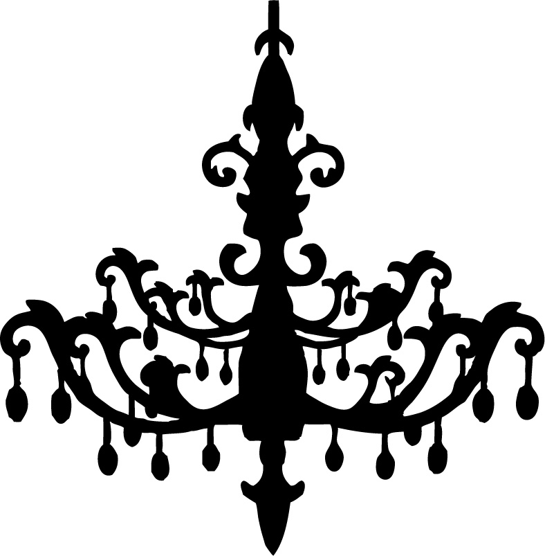788x803 Amazing Of Black And White Chandelier Modern Art Quad Modern Wall