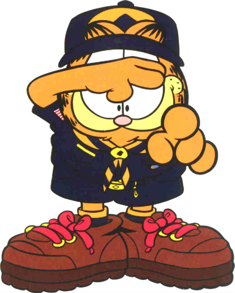 800x998 Cub Scout Garfield Want You To Become A Cub Scout Too. Crafts