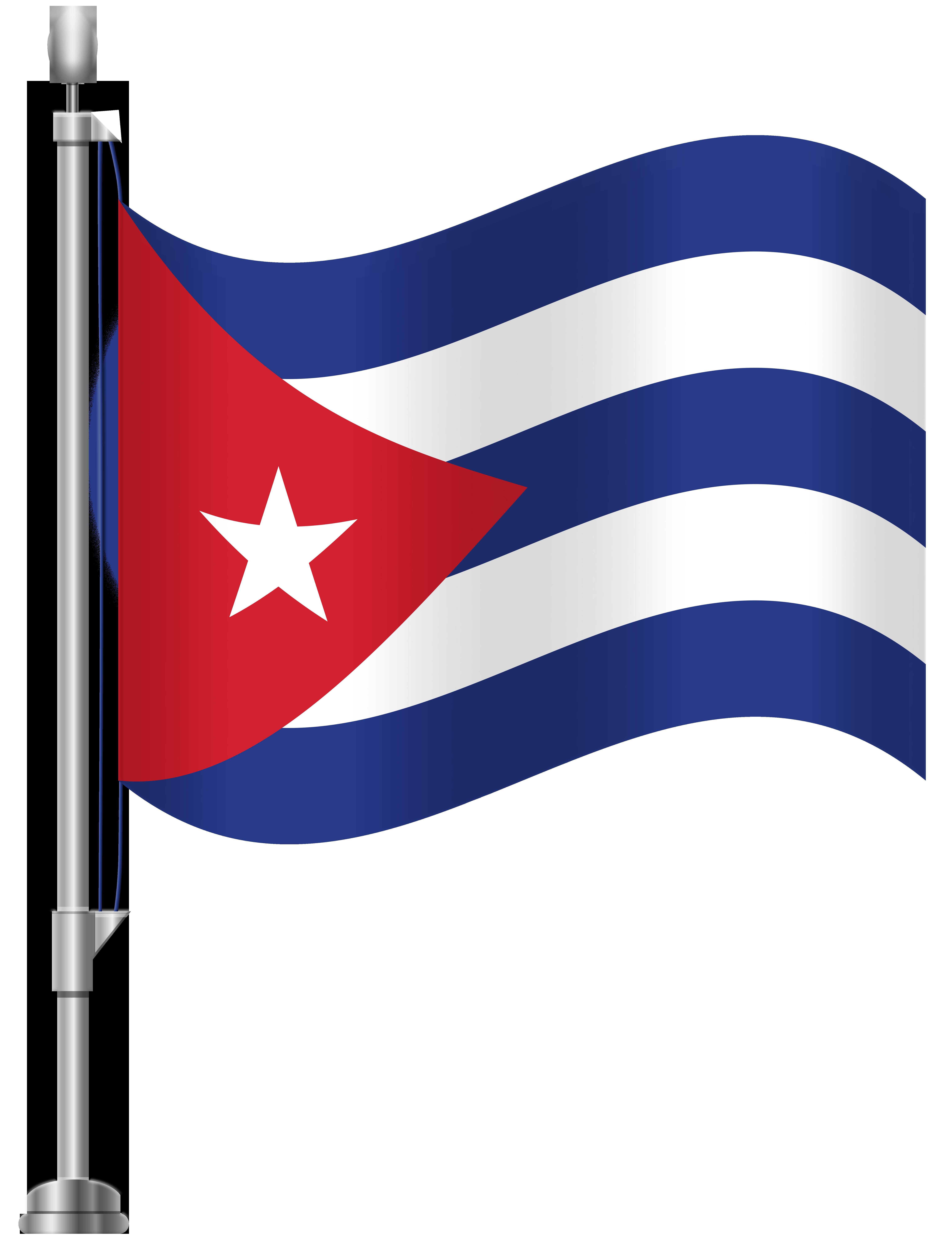 6141x8000 Cuba Flag Png Clip Art