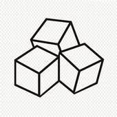 170x170 Cube Clipart Sugar Cube