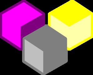 299x243 Cubes Clip Art