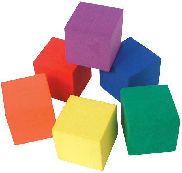 631x600 Foam Color Cubes Tcr20615