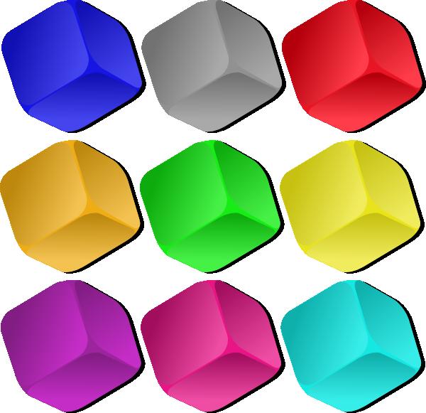 600x581 Game Marbles Cubes Clip Art