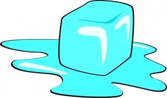 328x194 Ice Cubes Clipart