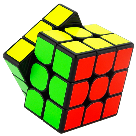 450x450 Moyu Weilong Gts 3x3x3 Speed Cube Black 3x3x3