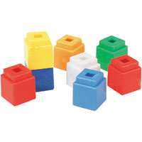 200x200 Unifix Cubes Clipart