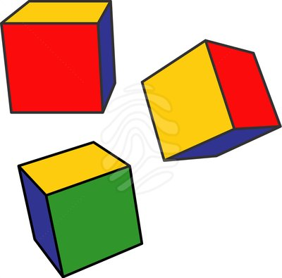 400x395 Cube Clipart Royalty Free Stock Pictures Color Cubes Illustration