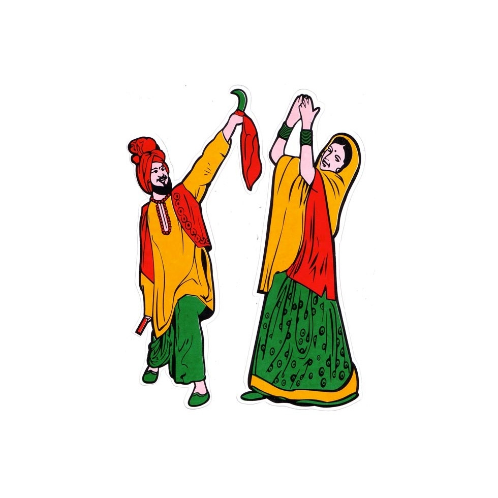 980x980 Folk Clipart Punjabi Culture