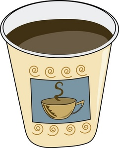 240x300 Coffee Clipart Image