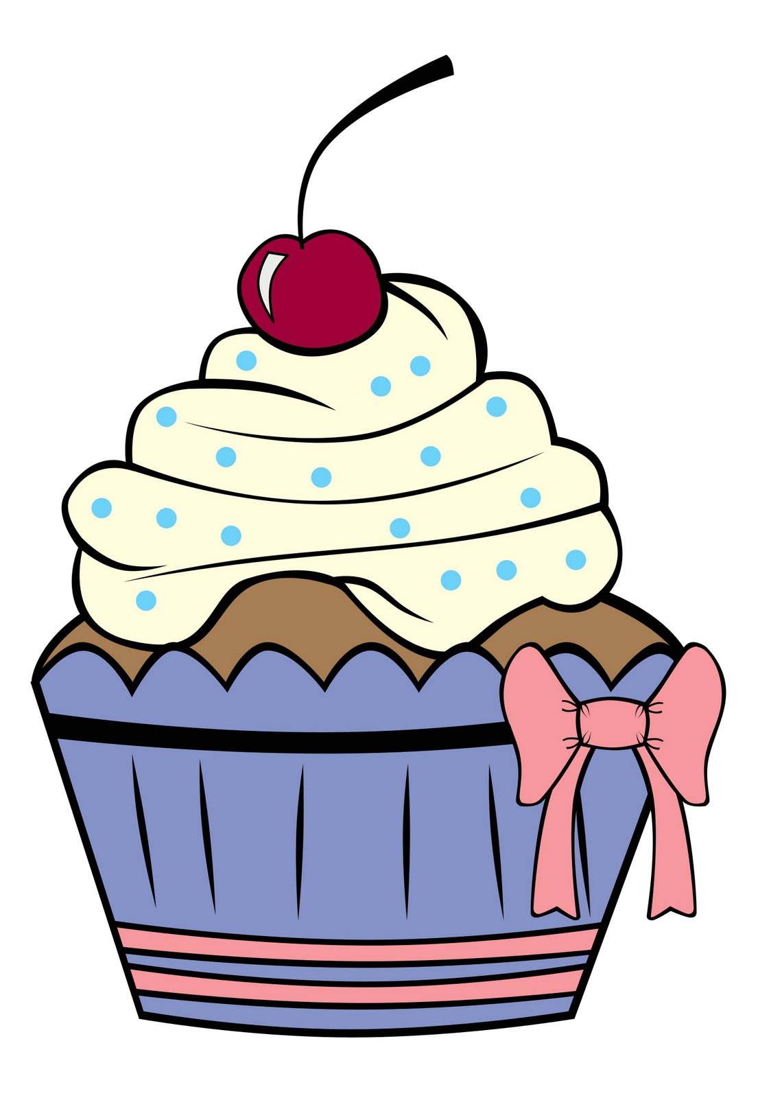 Cupcake Clipart Outline Free Download Best Cupcake