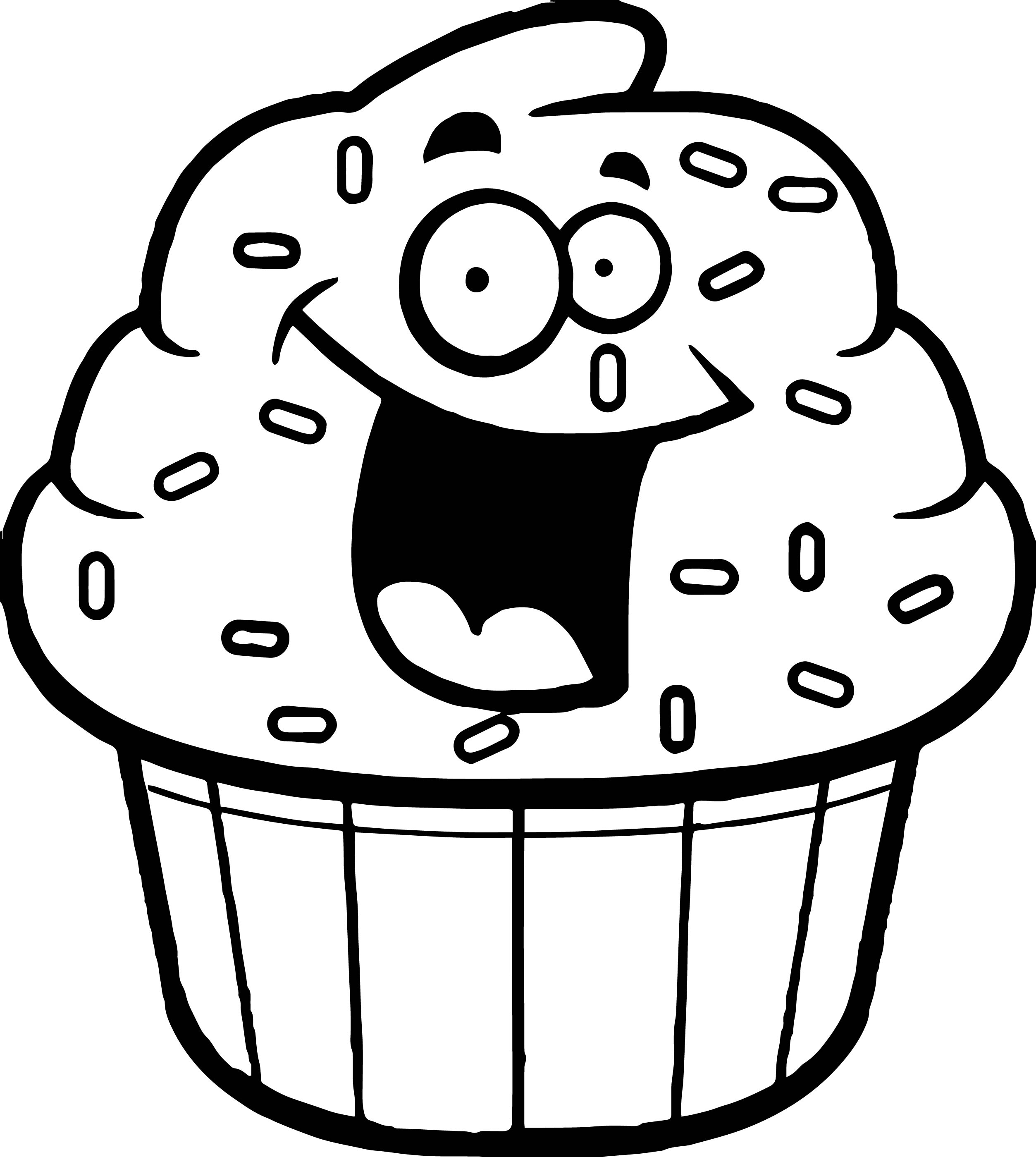 Cupcake Outline | Free download best Cupcake Outline on ClipArtMag.com