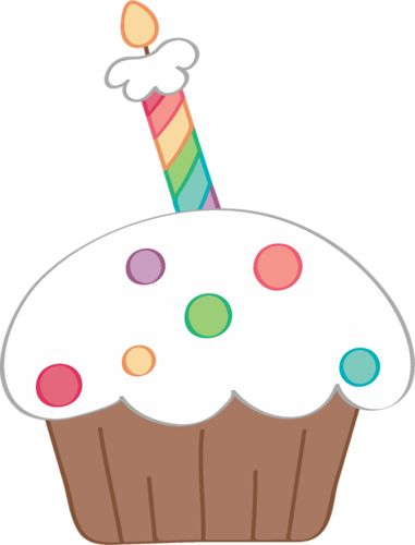 Cupcake With Candle Clipart Free Download Best Cupcake With Candle