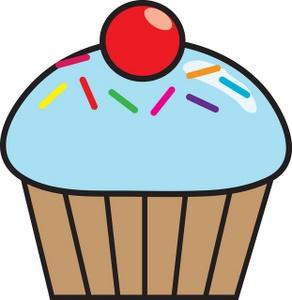 292x300 Cupcake Clipart