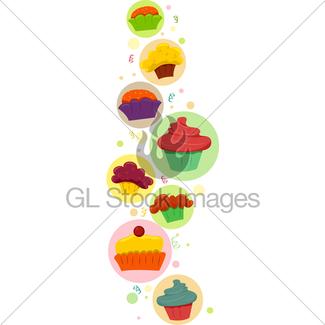 325x325 Cupcake Land Gl Stock Images