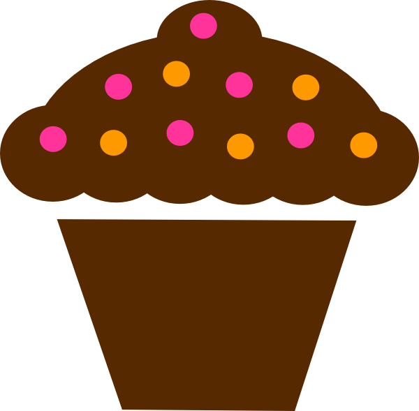 600x589 Cupcakes Clipart Border Free Images 3