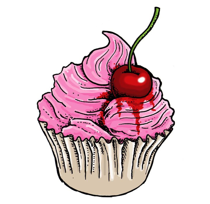720x701 Graphics For Cartoon Cupcake Graphics