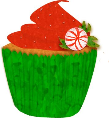355x383 Cupcakes Images On Cupcake Art Clipart 2