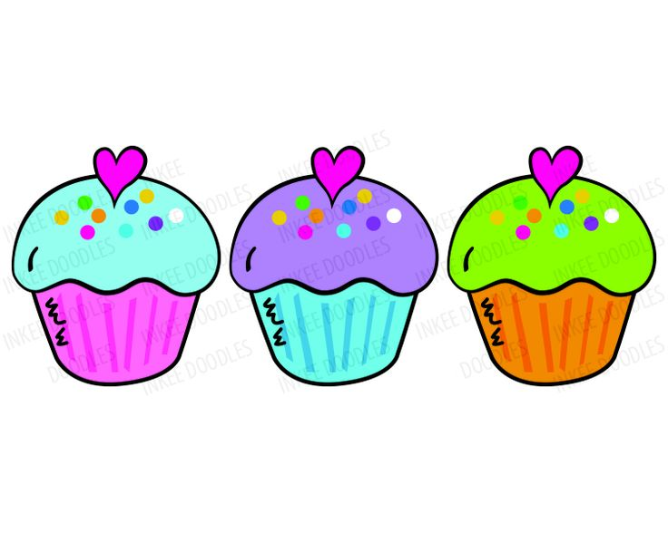 736x588 Image Of Birthday Cupcake Clipart