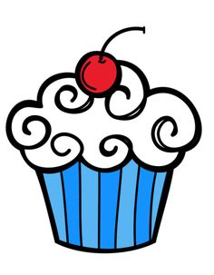 236x303 Pink Cupcake Clipart By On @