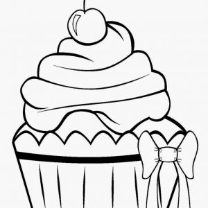 300x300 Cupcake Black And White Cupcake Drawings Cupcakes Clipart Image