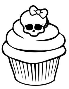 236x305 Cupcake Coloring Pages