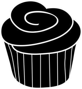 276x300 Cupcake Silhouette Clip Art Clipart